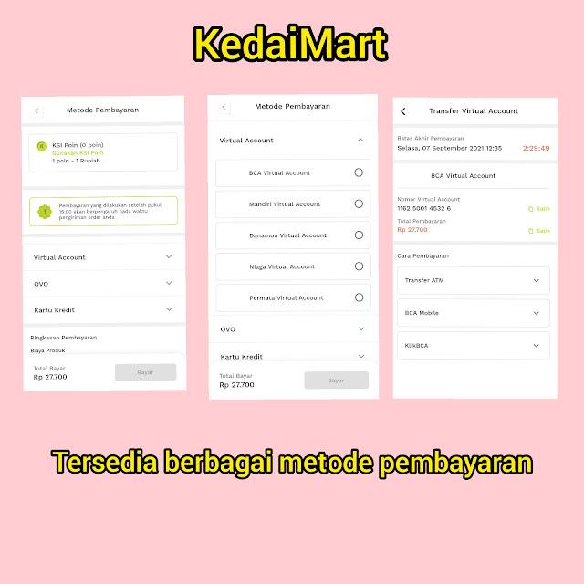 KedaiMart Supermarket in Your Pocket
