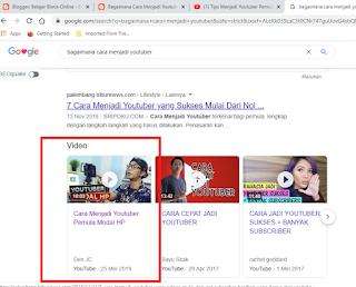 Chanel membahas Youtube