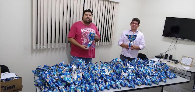 Prefeitura organiza calendário para a entrega de ovos de Páscoa