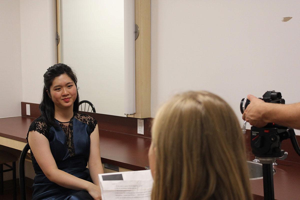 Entrevue avec une pianiste