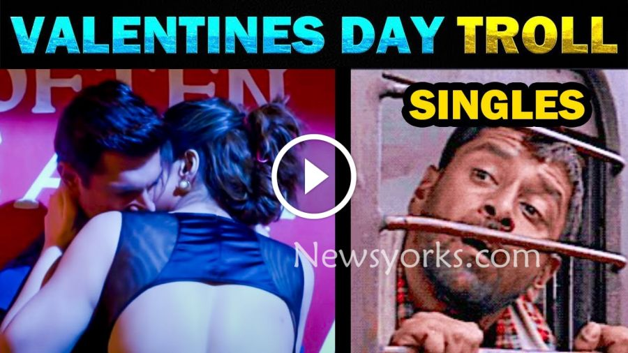 Valentines Day ஸ்பெஷல் TROLL VIDEO…..! முரட்டு சிங்கில்ஸ் வச்சி செஞ்சிட்டாங்க…?