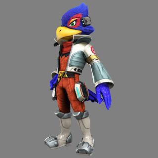 Falco Lombardi Star Fox