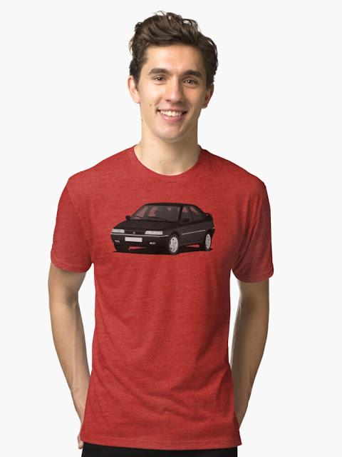 Citroën Xantia t-paita | autopaita