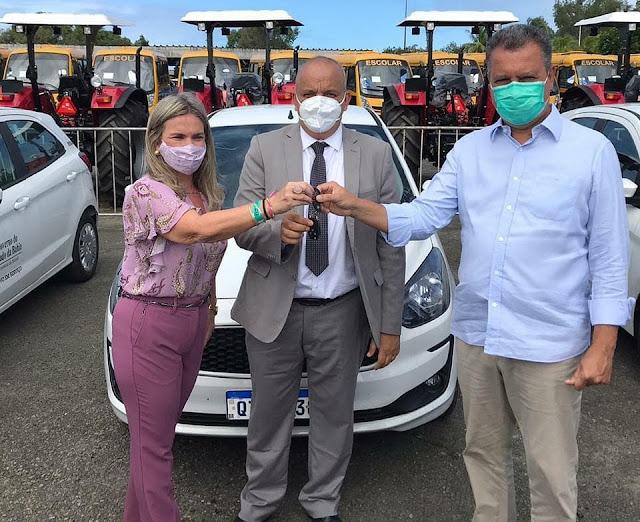 Novo Horizonte é contemplado com veículo 0-km para o desenvolvimento da saúde do município