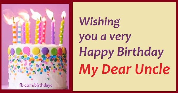 Birthday Messages For Uncles Happy Birthday Greeting Cards
