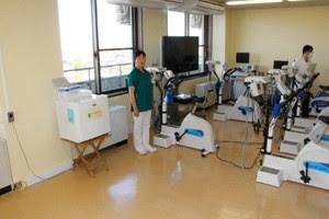 呼吸器血管外科、心臓リハビリテーション室完成 富山市民病院