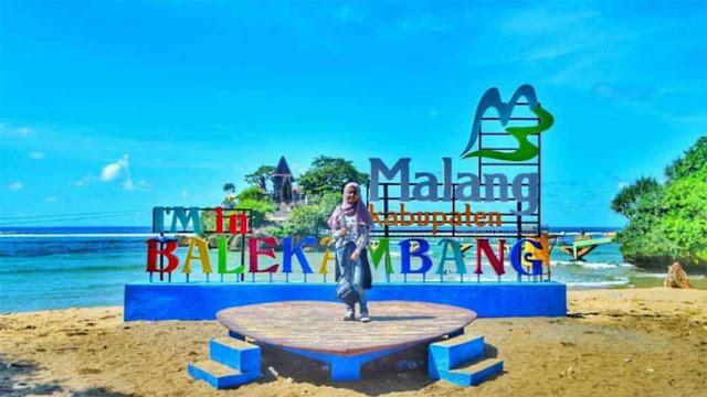 Pesona Wisata Pantai Balekambang Malang