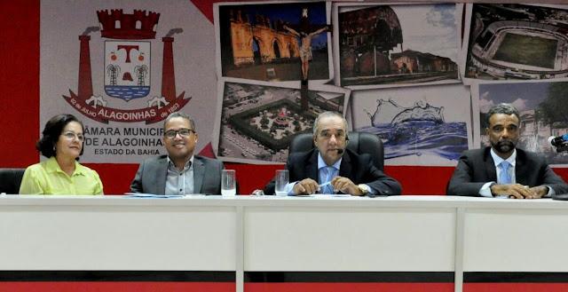 Possível reajuste do IPTU, marca sessão na Câmara Municipal de Alagoinhas