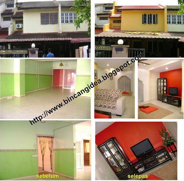 Dekorasi Rumah Teres Kos Rendah