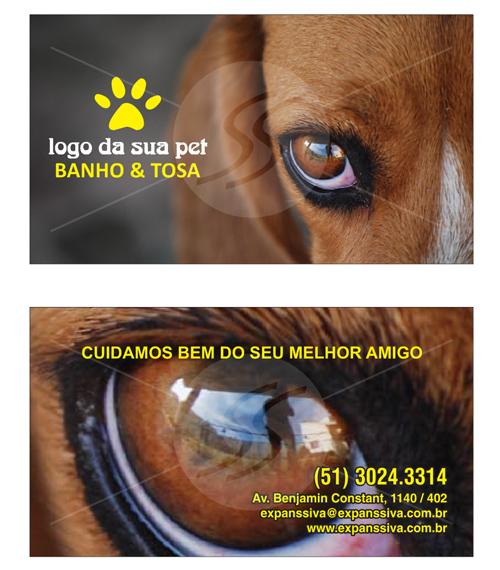 cartao de visita pet shop 15 - Cartões de Visita Pet Shop