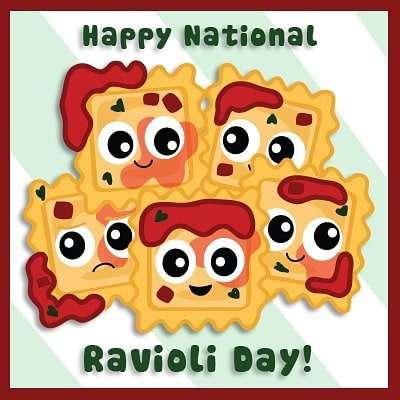 National Ravioli Day Wishes for Whatsapp