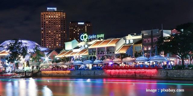 Clarke Quay Singapore - Blog Mas Hendra