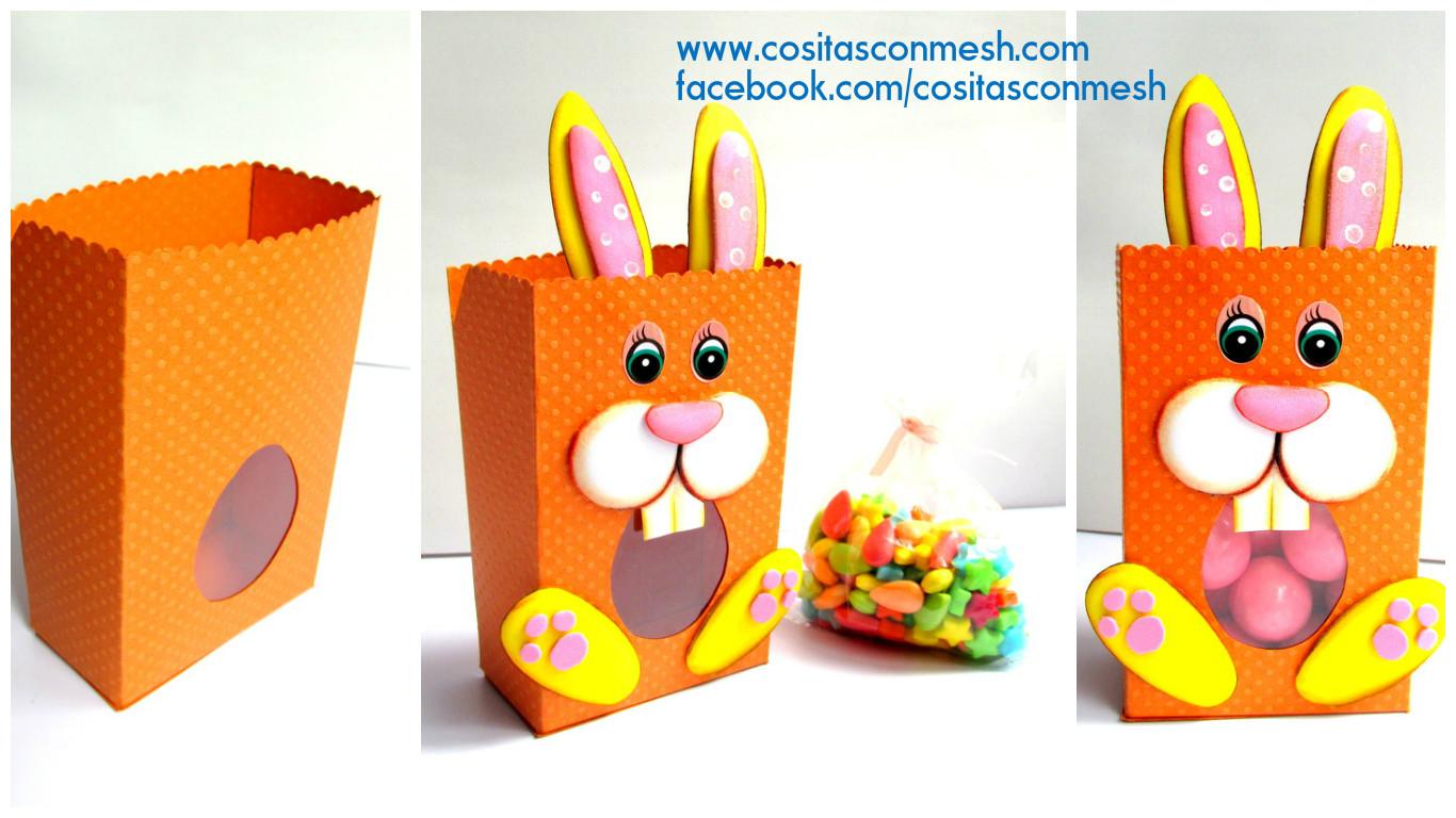 ESPECIAL DE PASCUA: Bolsita de conejo para Pascua
