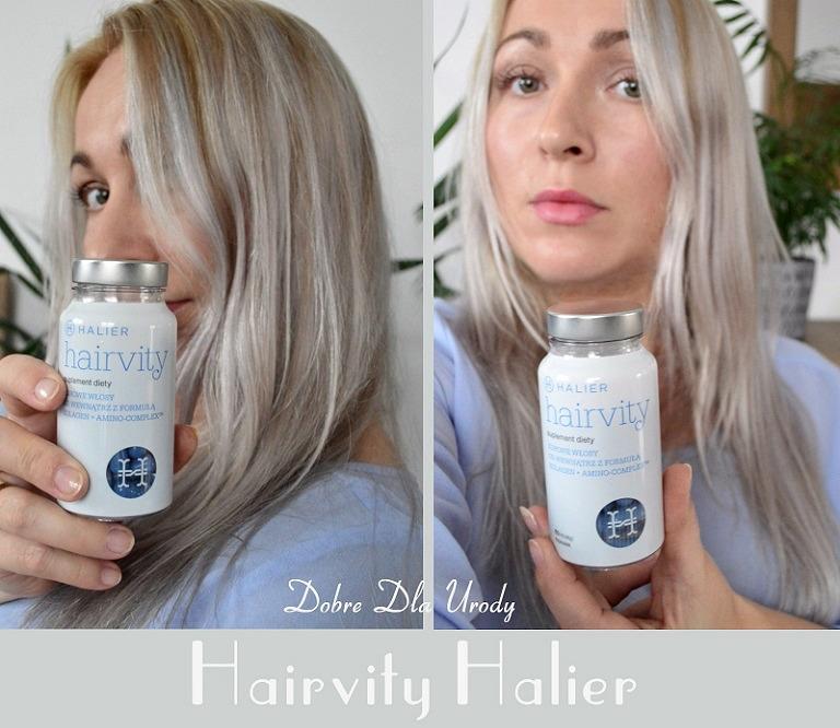 Halier Nutrikosmetyk Hairvity z formułą Kolagen + Amino-Complex™