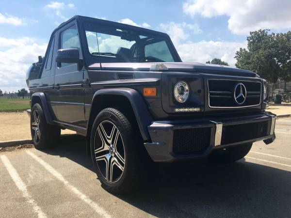 mercedes g wagon convertible g500 amg for sale in the usa 4x4 friday. Black Bedroom Furniture Sets. Home Design Ideas