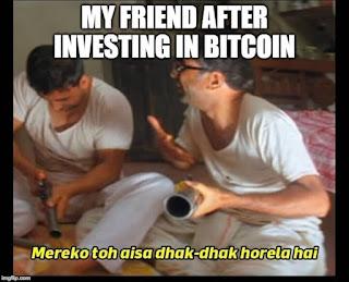 Raju investing in Bitcoin
