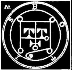 botis, sigilo, goetia, ocultismo