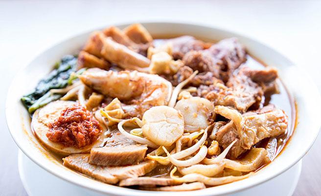 Penang Hokkien Prawn Noodle