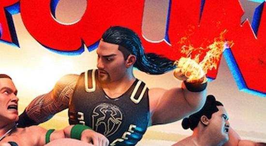 WWE 2K Battlegrounds Gameplay