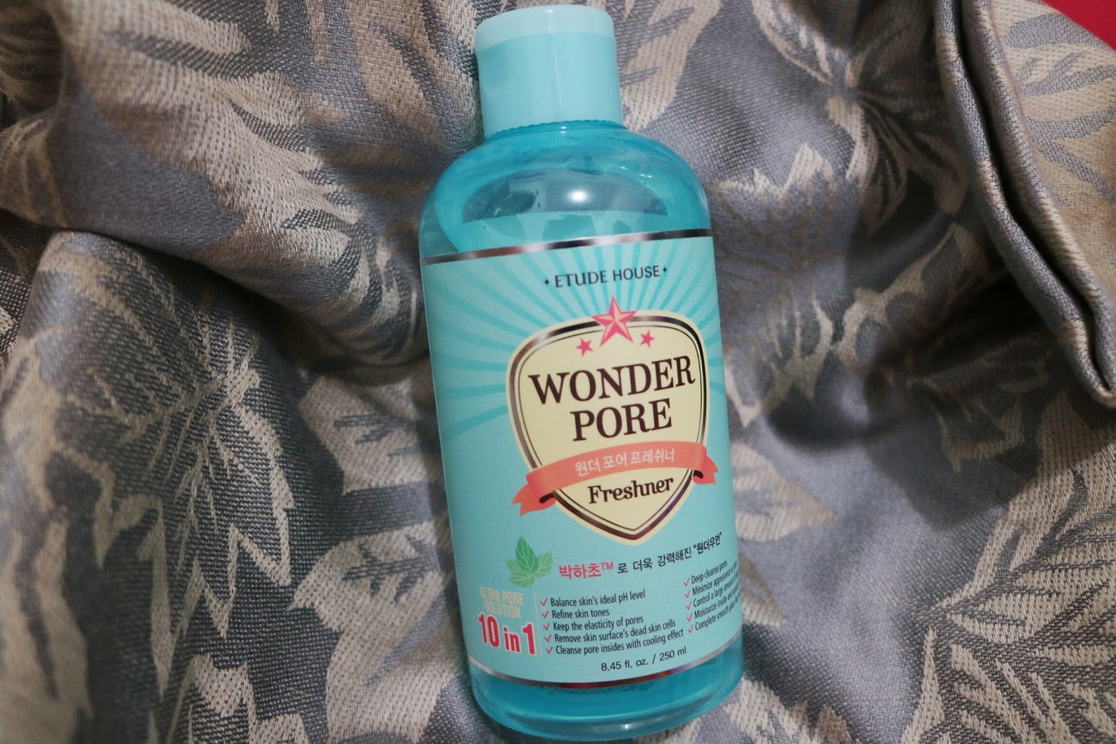 Review Etude House Wonder Pore Freshner Indonesia Laras Sita Faza 500 Ml Kamu Hanya Perlu Mengaplikasikannya Dengan Menggunakan Kapas Setelah Mencuci Muka Face Wash Ini Memberikan Efek Segar