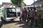 Peran Aktif Babinsa Koptu Sutarto melaksanakan Lelayu di Wilayah Binaan