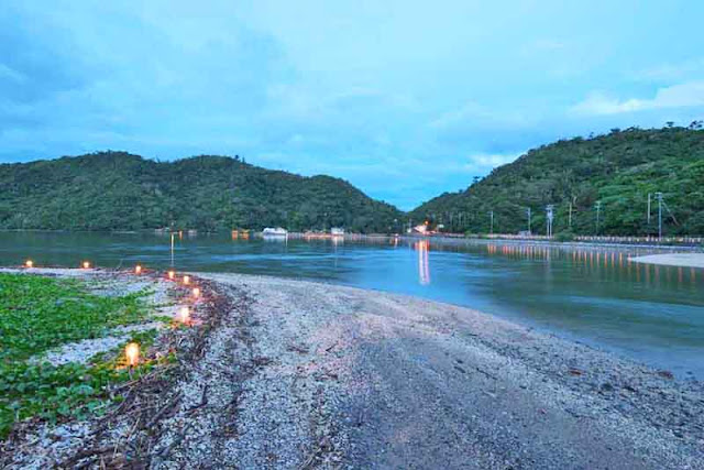 bay, candles, festival, Shioya, Ogimi, Okinawa