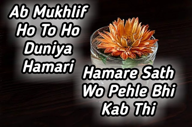 Sad Shayari For Life