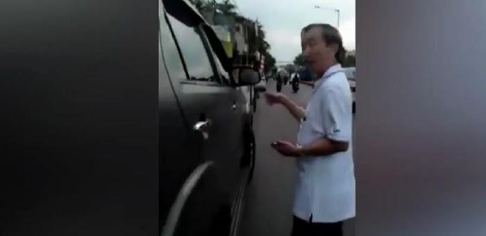 Pakai Mobil Plat TNI AD, Pria Keturunan Ini Gagah-gahahan Mengaku Aggota saat Beli Makanan