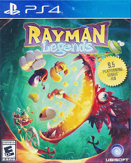 Rayman Legends (2016) Poster