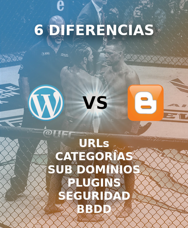 diferencias entre blogger y wordpress