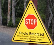 stop sign camera photo enforced