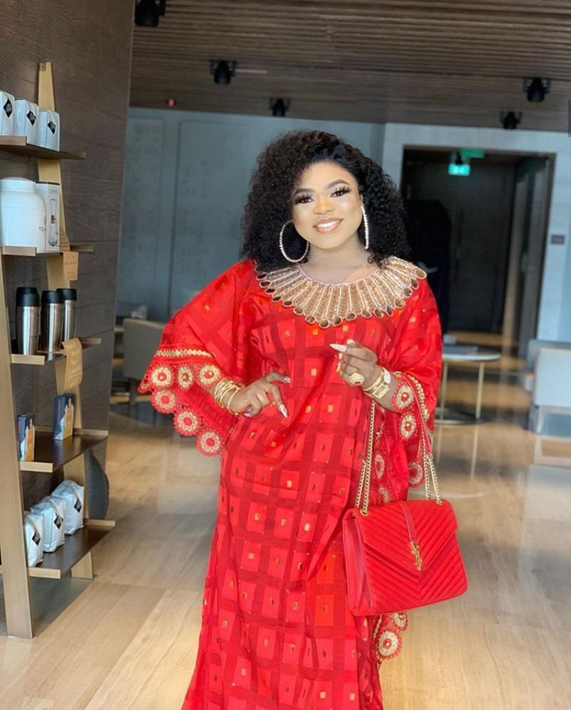 Bobrisky Responds To Prophetess Who Warned Him To Repent Or He'll Be Struck With Incurable Sickness