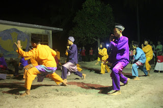 Joged Dangkong , kesenian khas Melayu