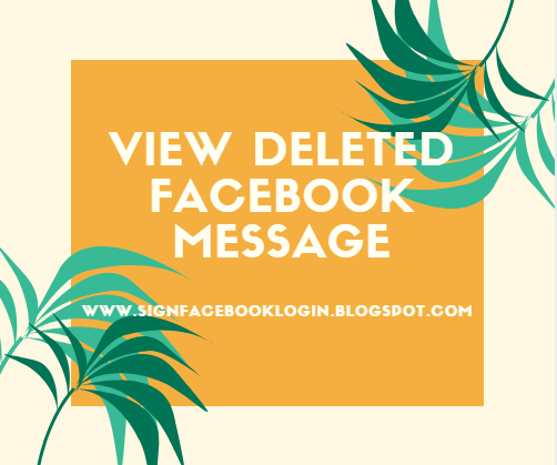 How To View Deleted Messages In Facebook Messenger