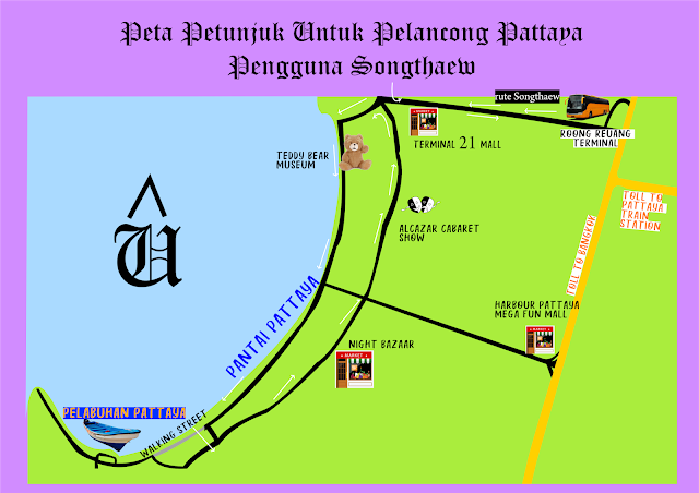 MENGGEMBEL DI THAILAND 3 (PATTAYA-DON MEUANG)