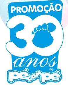 Cadastrar Promoção Pé Com Pé Aniversário 30 Anos 2016 2017