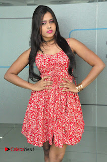 Model Priyanaka Pictures in Black Dress at Yes Mart Event  0005