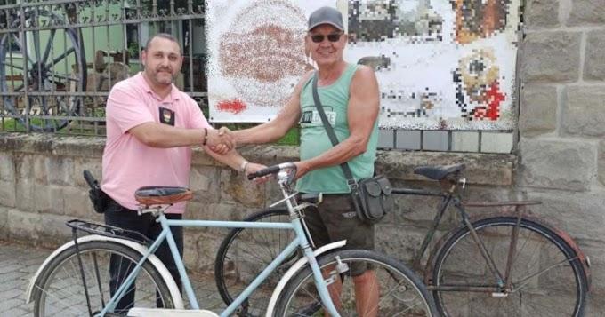 A rendőrök megtalálták és visszaadták tulajdonosának a szécsényi múzeumból ellopott kerékpárokat