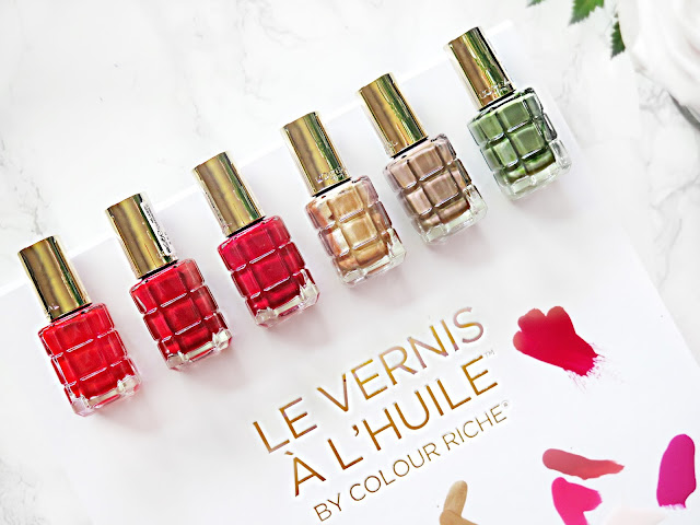 Oil Infused Nail Polish - The Next Big Thing | L'Oreal Paris Le Vernis À L'Huile Nail Polishes | Review | labellesirene.ca