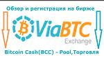 ViaBtc - обзор, регистрация и работа на бирже