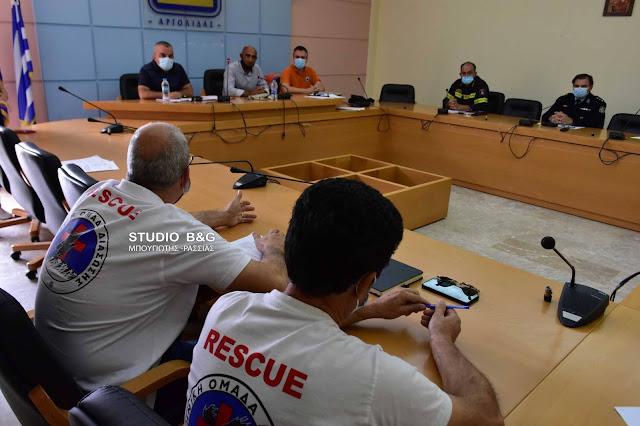 Συνεδρίαση του Συντονιστικού Τοπικού Οργάνου Πολιτικής Προστασίας του Δήμου Ναυπλιέων