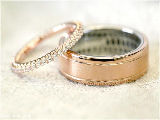 اشكال محابس ذهب 12   Gold Engagement Rings Forms 12