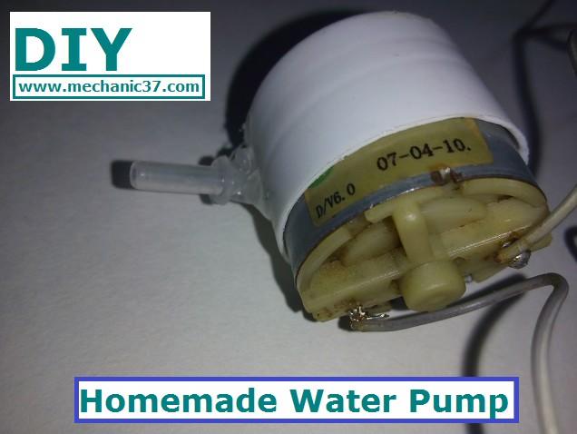 Dc Motor का Use करके Water Pump कैसे बनाएं