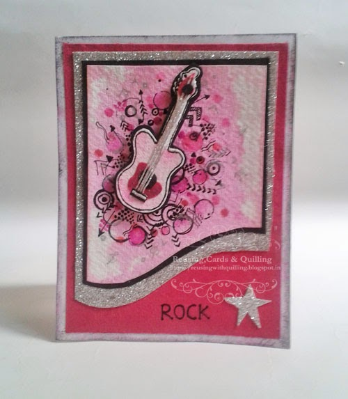 http://reusingwithquilling.blogspot.in/2014/03/rock-star.html