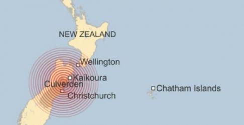 Tsunami Terjang Selandia Baru