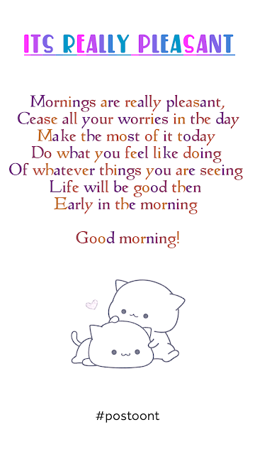 Good Morning Quotes and Inspirational Poems