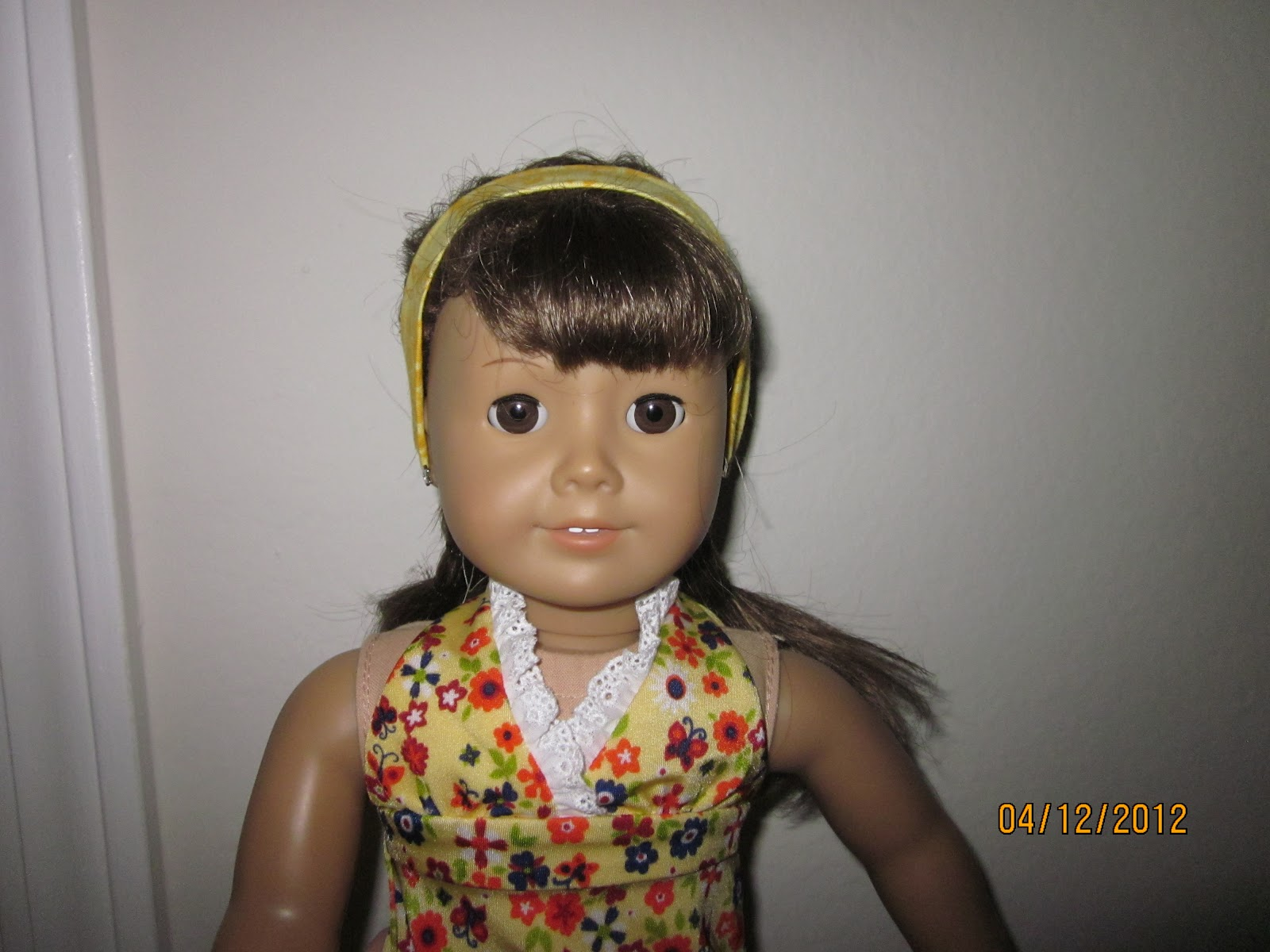 Swell Sew Crafty Mommy American Girl Hair Styles Short Hairstyles Gunalazisus