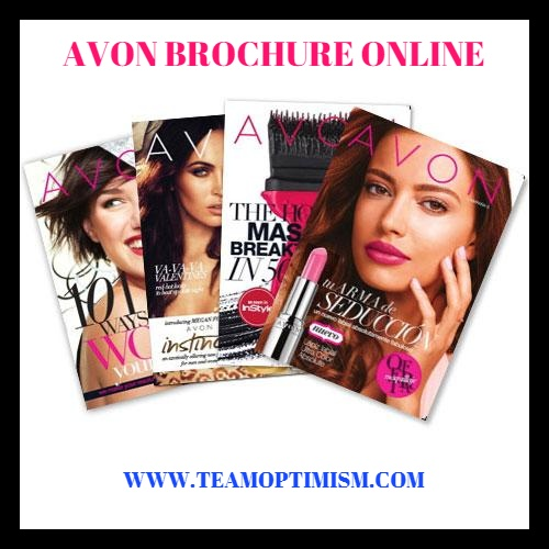 AVON Catalog Request - Complimentary Brochure by Email/Text/Mail