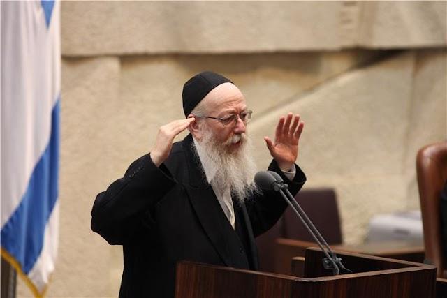 Yaakov Litzman ministro ultra-ortodoxo renuncia em protesto pelo trabalho no sábado