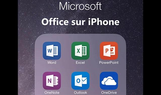 Comment obtenir Microsoft Office sur iPhone?